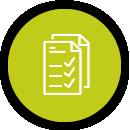 Labor- & Prüfdaten- Verwaltung Icon