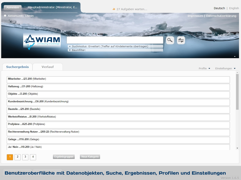 WIAM ICE Expert UI