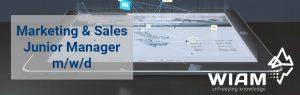 Junior Marketing & Sales Manager (m/w/d)