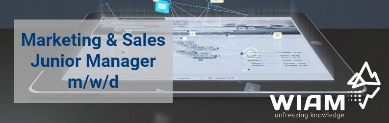 Marketing & Sales Junior Manager m/w/d